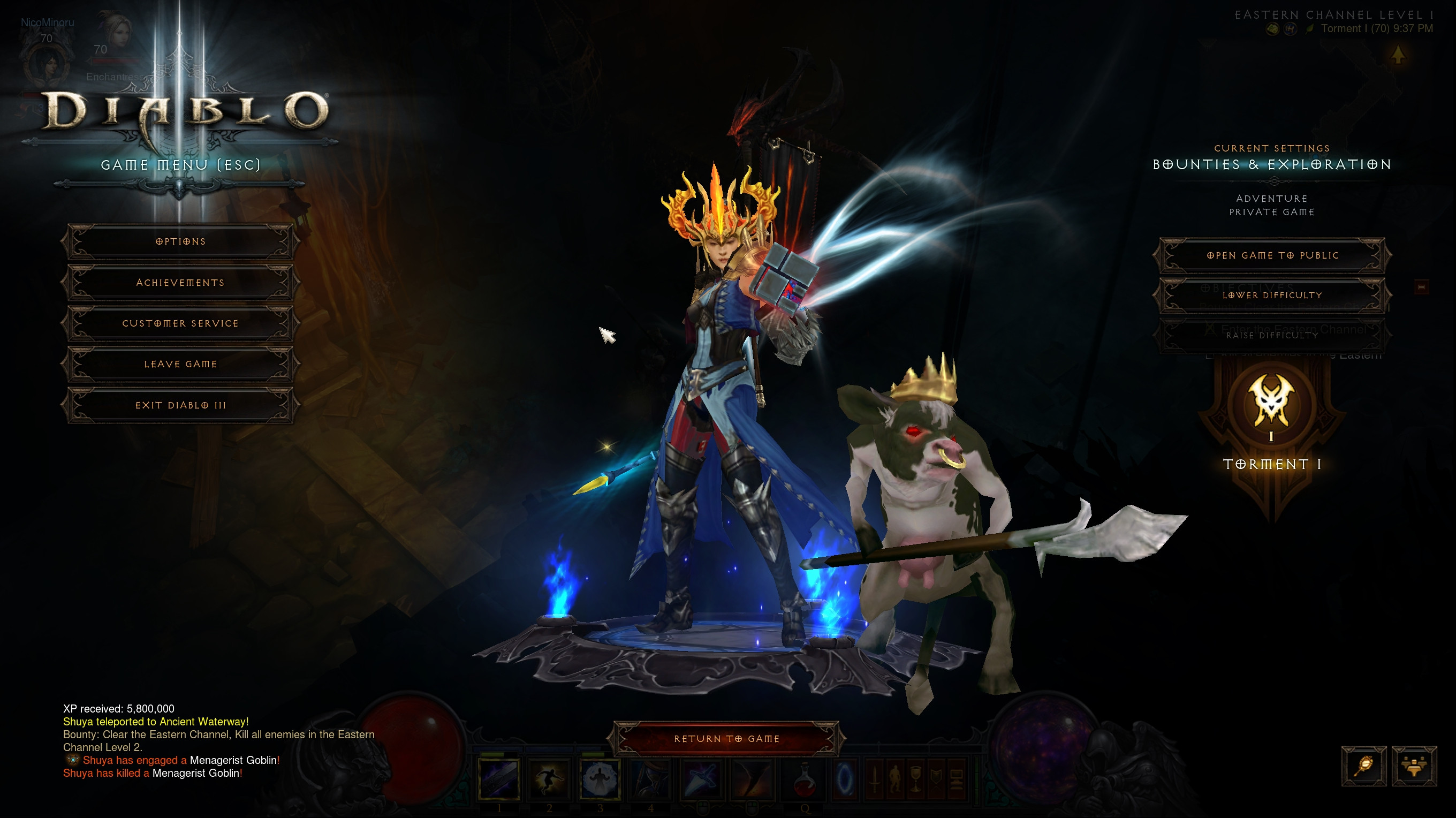 Diablo 3 Patch 241 New Virtual Pets