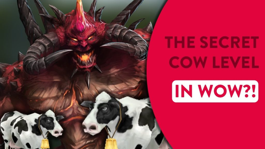 World of Warcraft Could be Getting a Secret Cow Level
