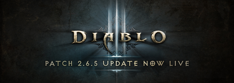 Diablo 3 Patch 2.6.5