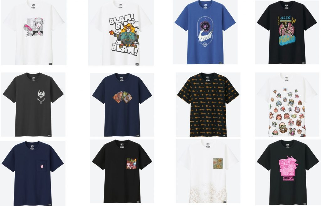 Uniqlo launches Blizzard Entertainment-themed clothing collection