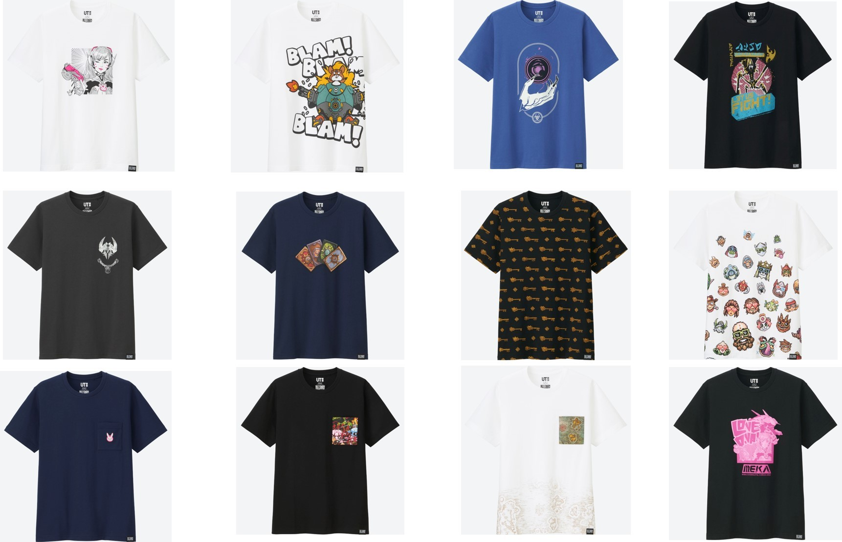 Uniqlo X Blizzard Entertainment Full Collection