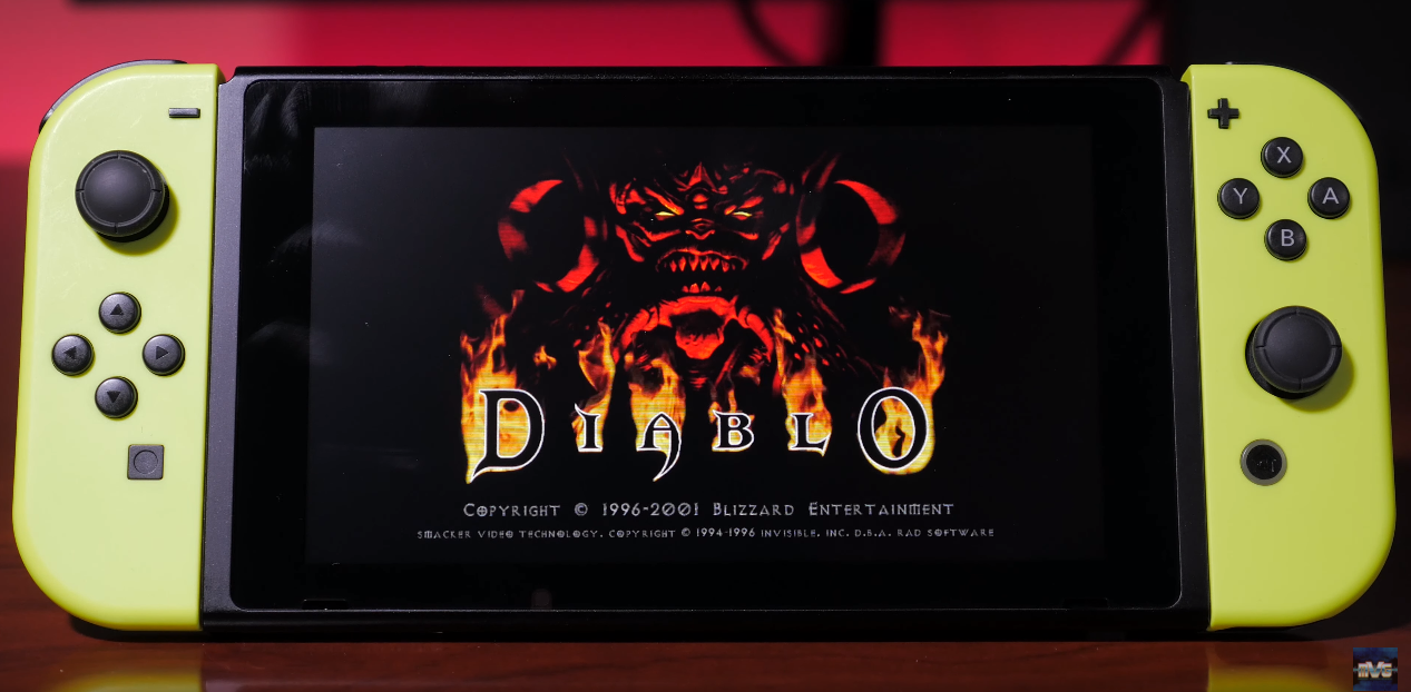 Diablo Nintendo Switch
